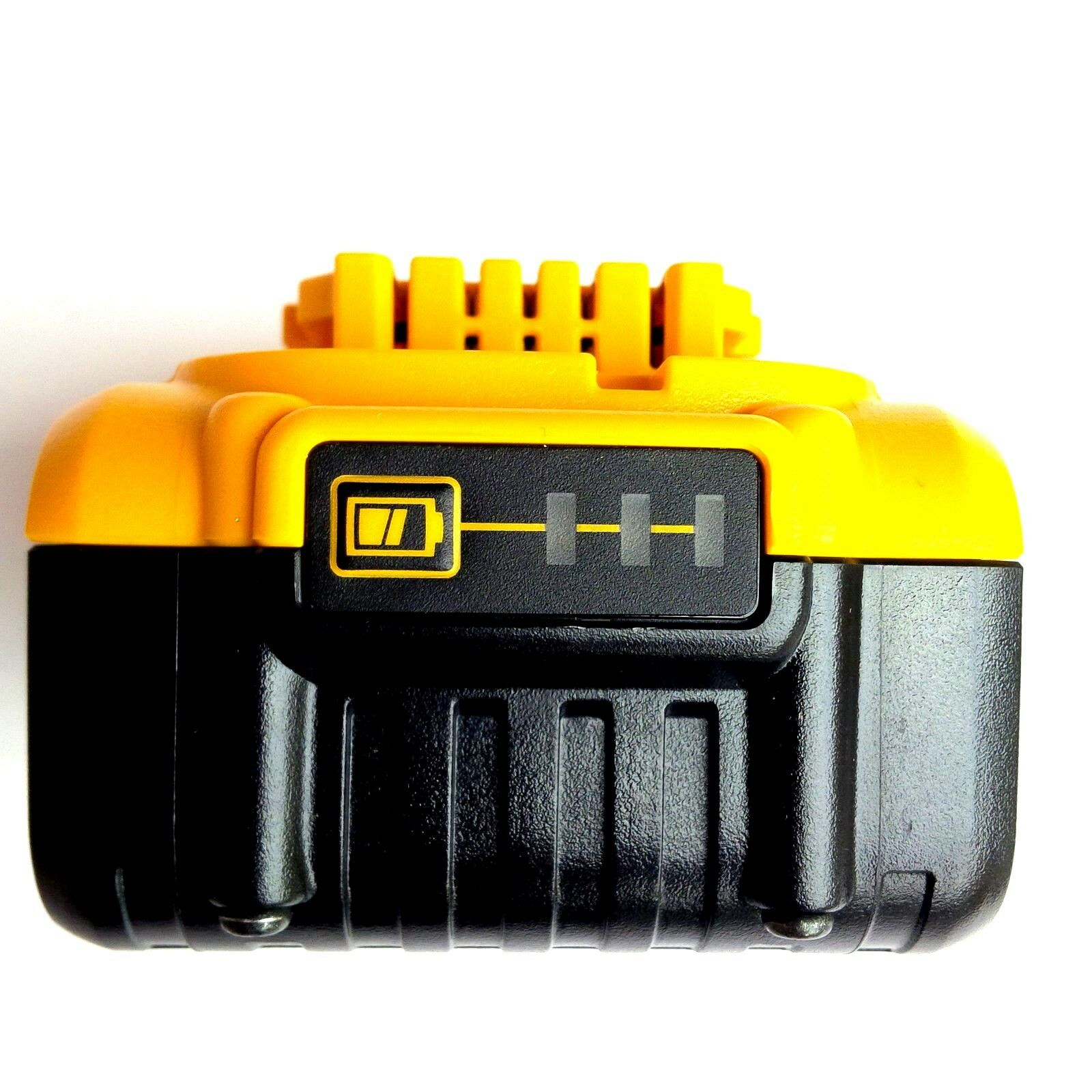 (1) New Genuine Dewalt 20V DCB205 5.0 AH Battery, (1) DCB115 Charger 20 Volt MAX