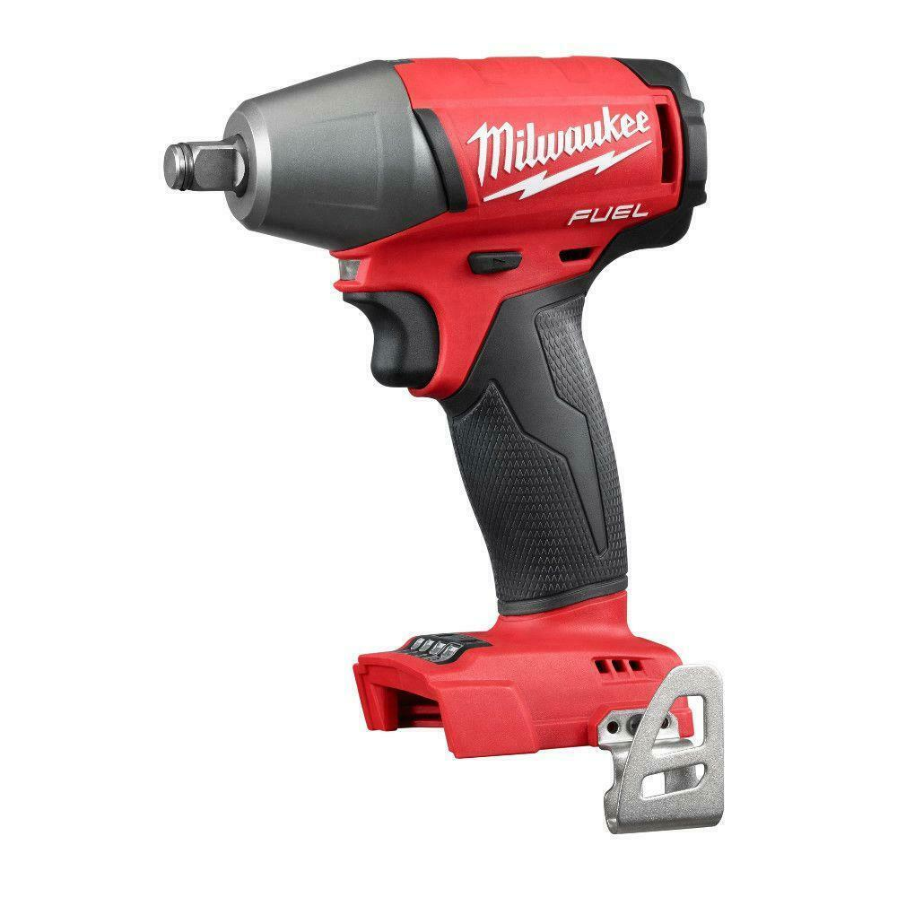 Milwaukee 2754-20 M18 Fuel 18 Volt 3/8″ Impact Wrench W/Friction Ring Tool Only