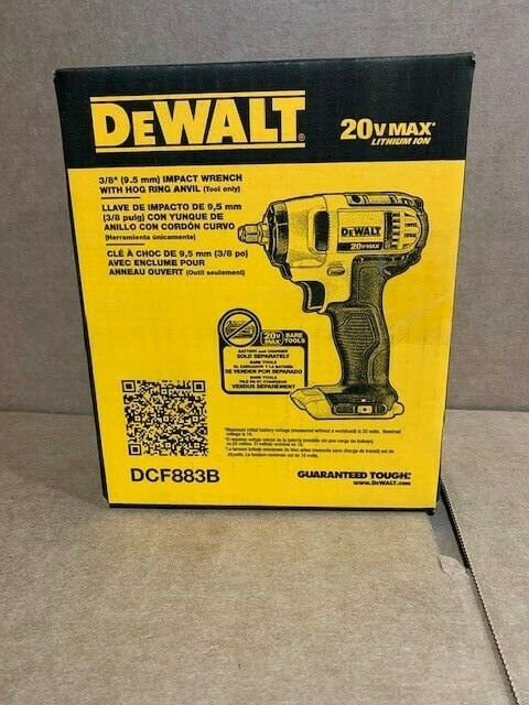 DEWALT 20V MAX Cordless Li-Ion 3/8 In. Impact Wrench DCF883B Brand New
