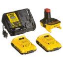 DeWALT DCA2203C [OPEN BOX FAST SHIP] 18V To 20V Max Li-ion Battery Adapter Kit