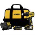 DeWALT DCD708C2 ATOMIC 20V MAX 1/2 In. Brushless Drill Driver Kit New