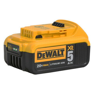 DeWalt DCB205 20V MAX XR 5.0Ah Lithium Ion Battery Pack – BRAND NEW!