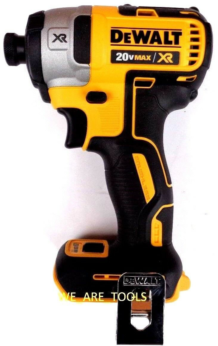 NEW Dewalt DCF887 3-Speed Brushless 20V Max Cordless 1/4″ Impact Driver 20 Volt